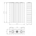 WB-LYP160AHA LiFeYPO4 (3.2V/160Ah)