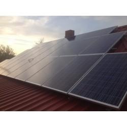 Сетевая солнечная Электростанция 10кВт с.Вороновка