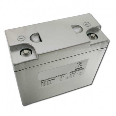 Lithium Battery LiFePO4 (12V/20Ah)