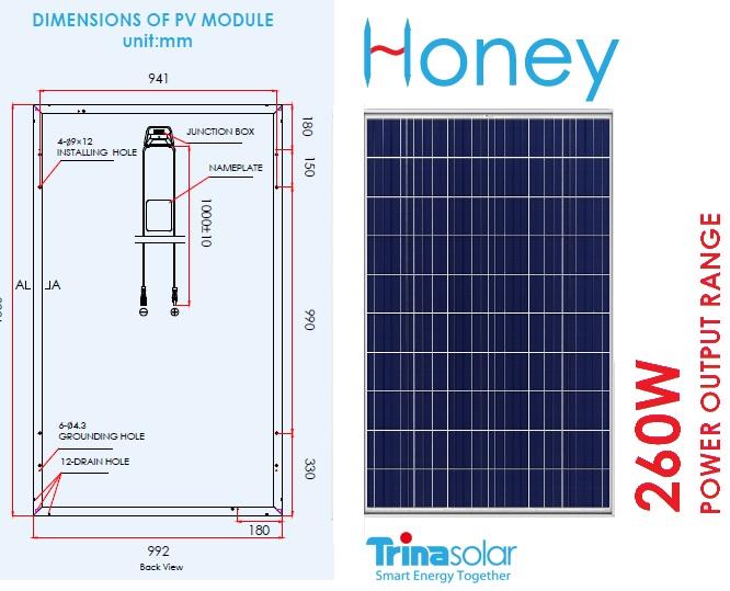 Солнечные фотомодули Trina Solar