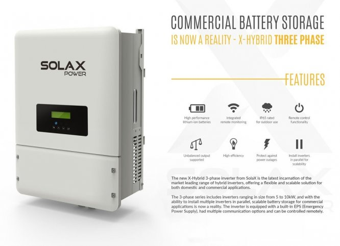 """Self-use Energy Storge System"", ""solar inverters"", ""X-Hybrid battery storage system"""