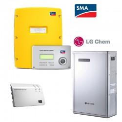 SMA SI6.0H11LG Chem 5,0 kWh Li